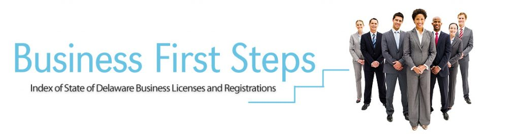 Delaware Business First Steps Webpage