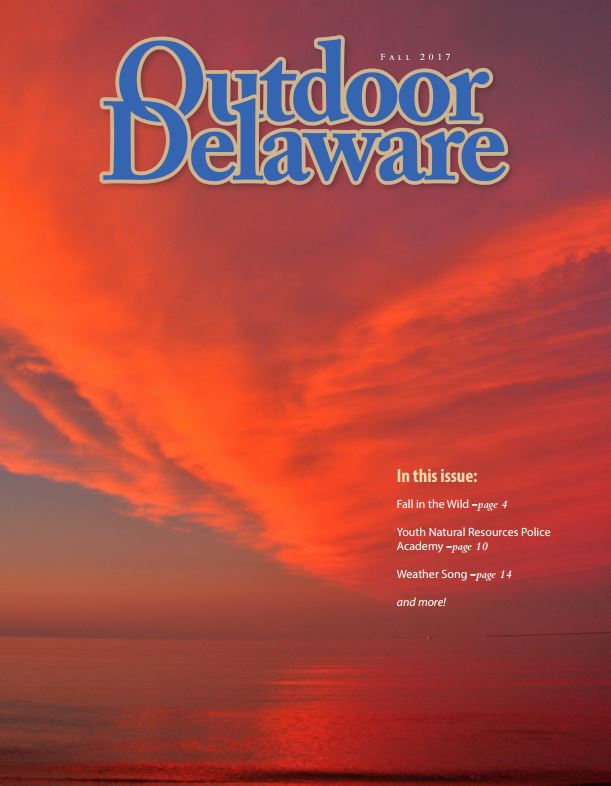 Fall 2017 Outdoor Delaware Magazine Cover