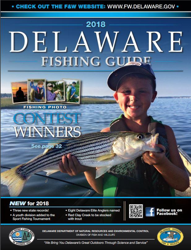 2018 Delaware Fishing Guide Cover