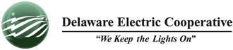 Delaware Electric Cooperative Logo