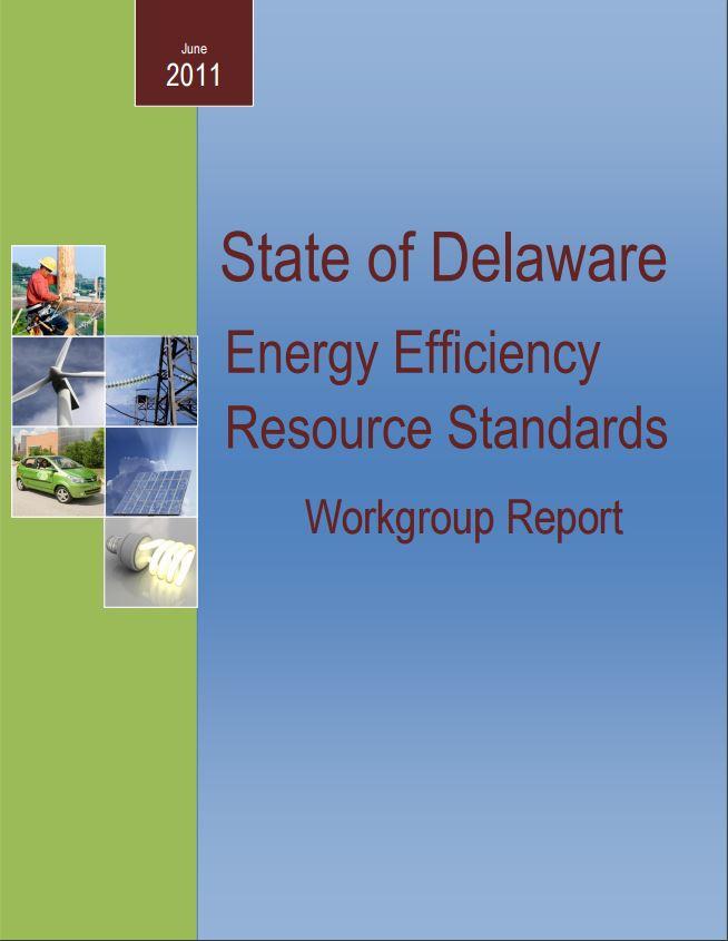 Energy Efficiency Resource Standards report