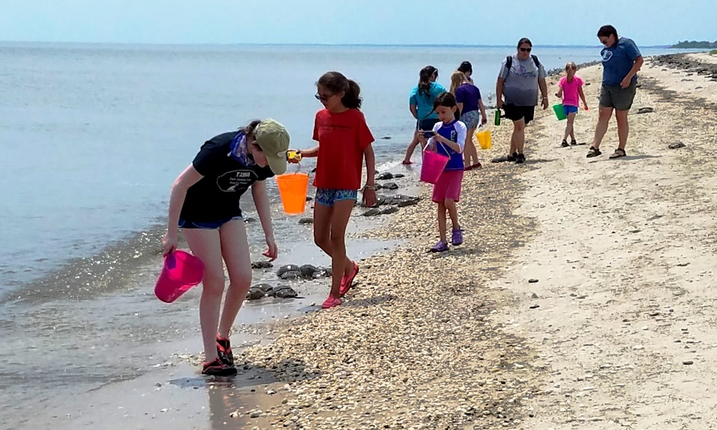 Girl Scouts on the Bayshore