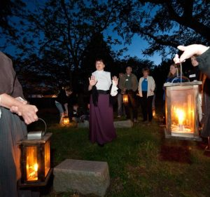Christ Church Cemetery lantern tour