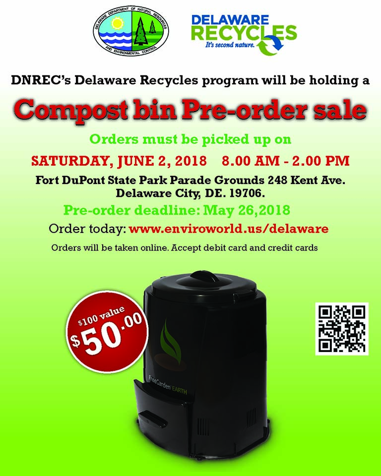 Delaware Recycles Composter Sale