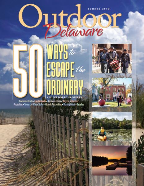 Summer 2018 Outdoor Delaware Magazine