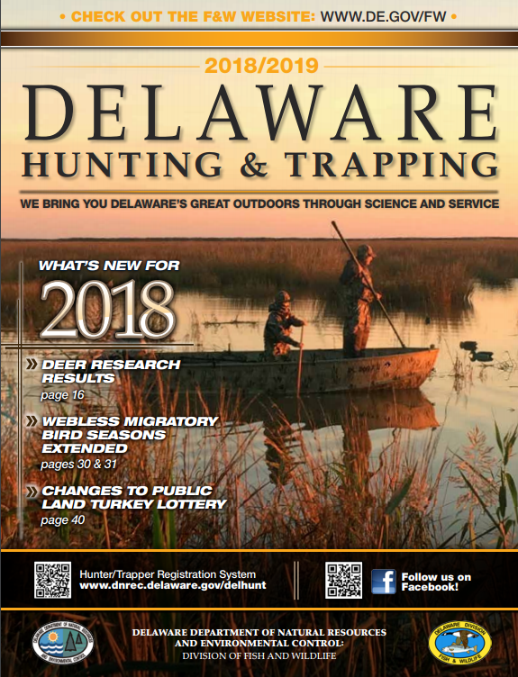 2018 Delaware Hunting Trapping Guide