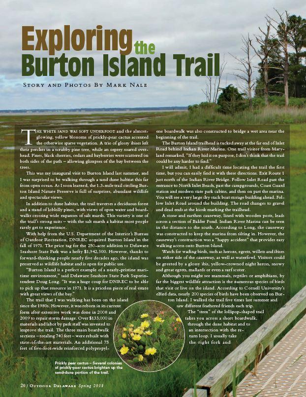 Burton Island Trail