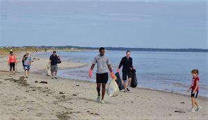 Coastal Cleanup, Milford Neck