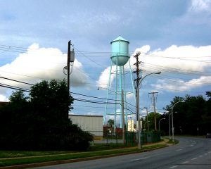 Industrial Water Tower and tank