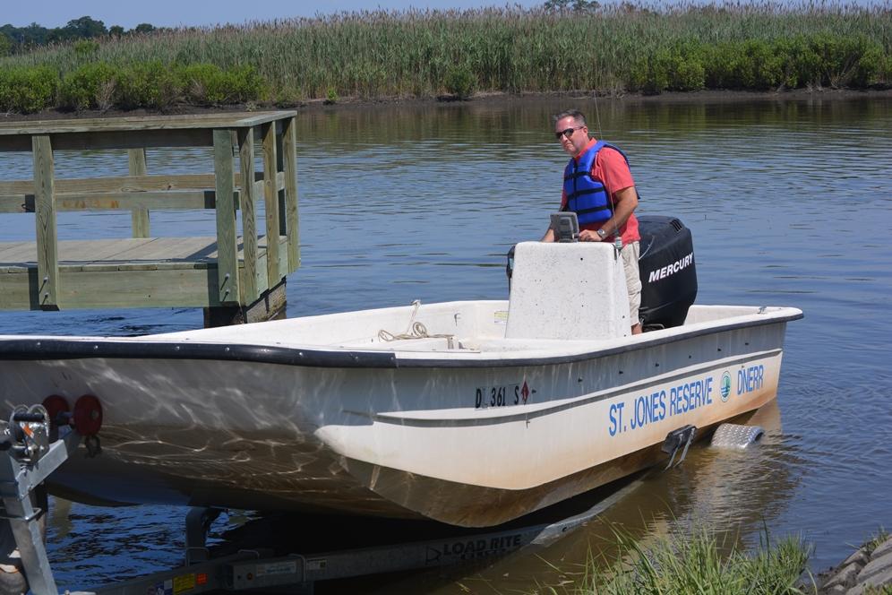 Boat Trips on St. Jones