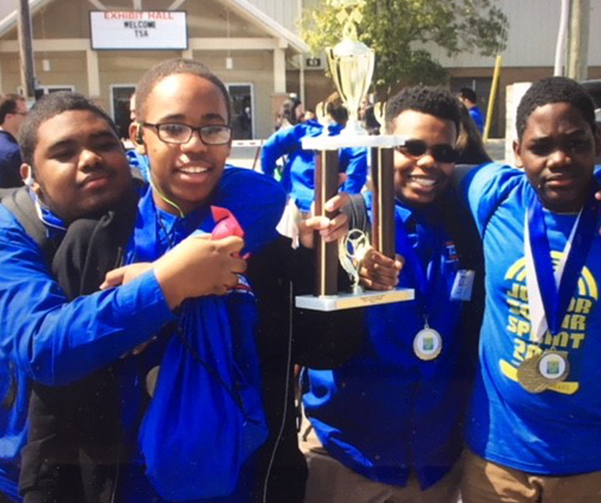 2019 Jr. Solar Sprint Winning Team, Car3, Bayard Middle School, Wilmington