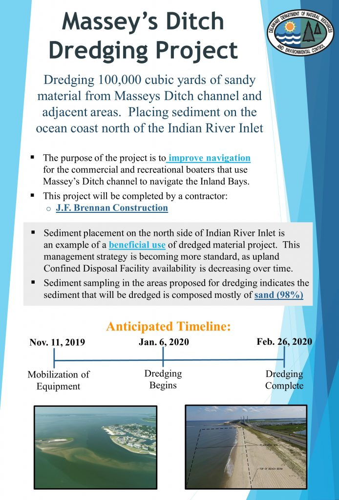 Masseys Ditch Dredging Project