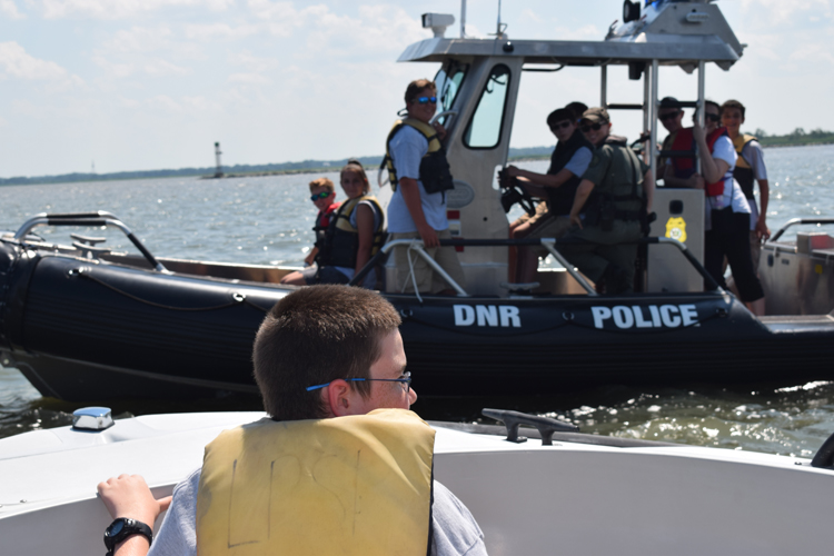 Natural Resources Police Youth Academy Boating