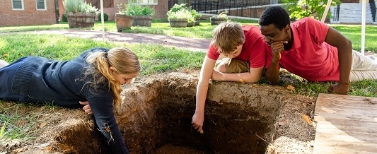 Archaeology at the John Bell House