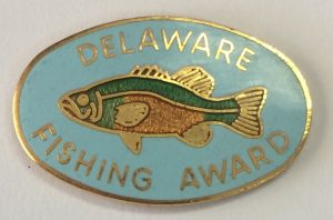Historic Fishing Lapel Pin