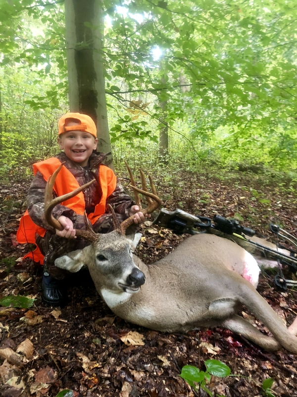 Brody's First Crossbow Hunt