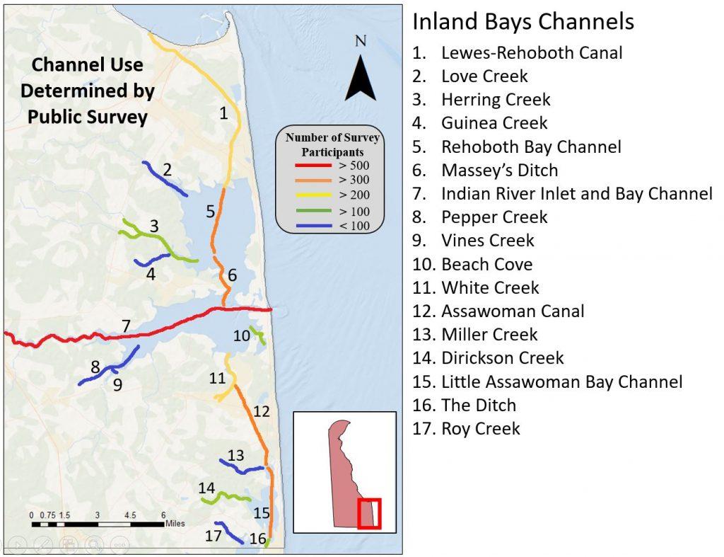 Inland Bays Channels