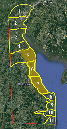 Waterfowl Survey Zones