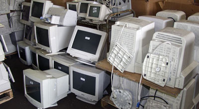waste computer monitors