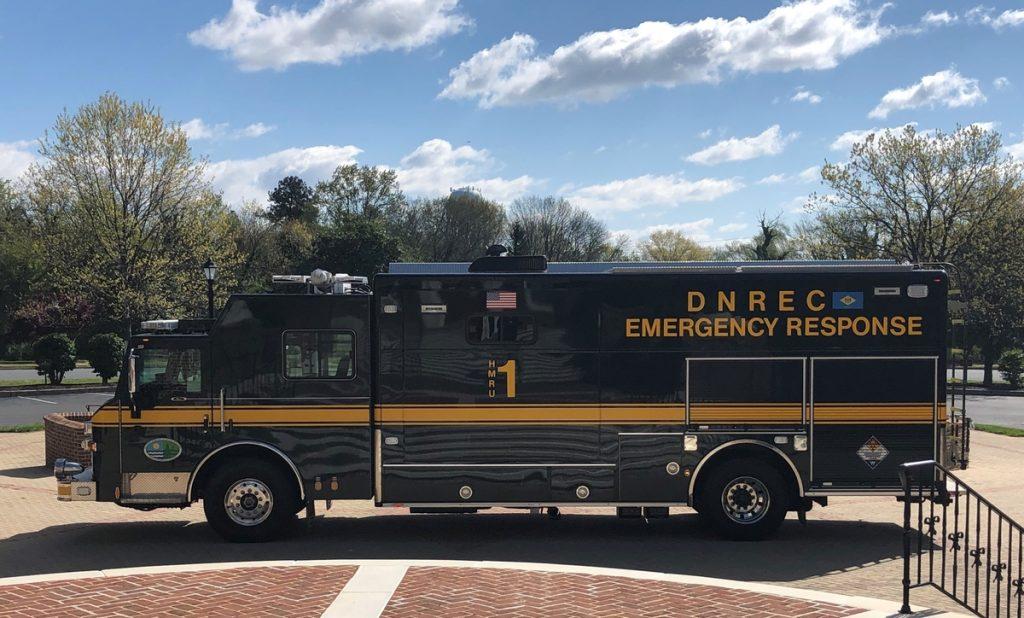 DNREC Emergency Response Vehicle