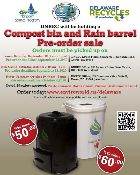 2020 Fall Compost Bin and Rain Barrel Sale