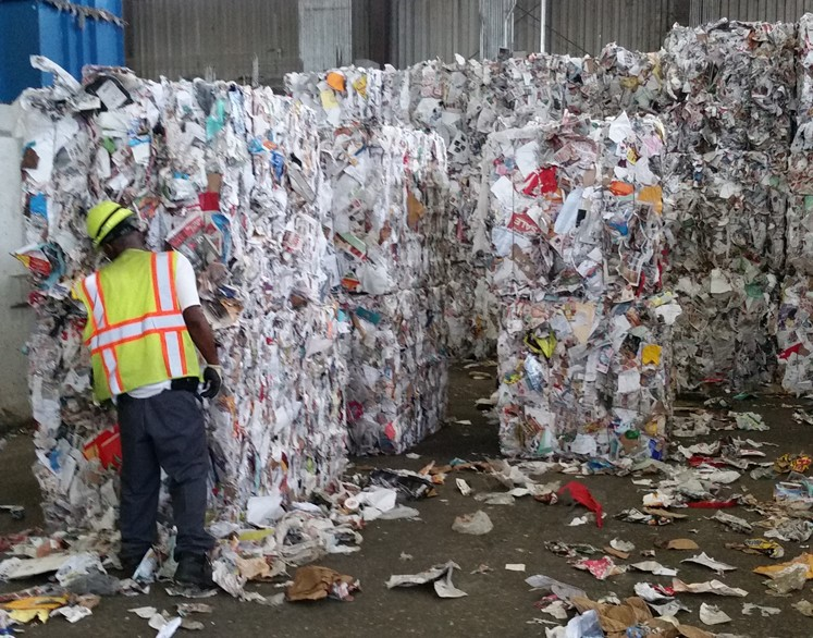 Baled Recyclables