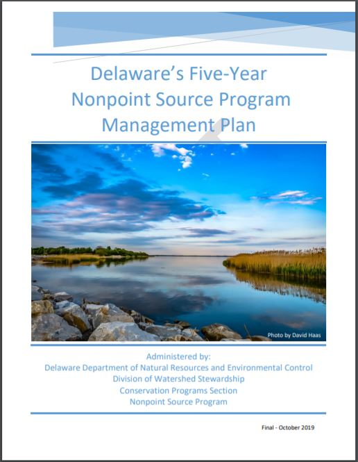 Link to Delaware's Five-Year Nonpoint Source Program Management Plan