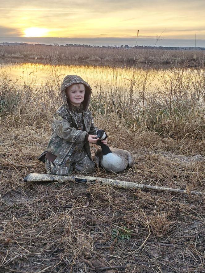 Wyatt's First Goose Hunt