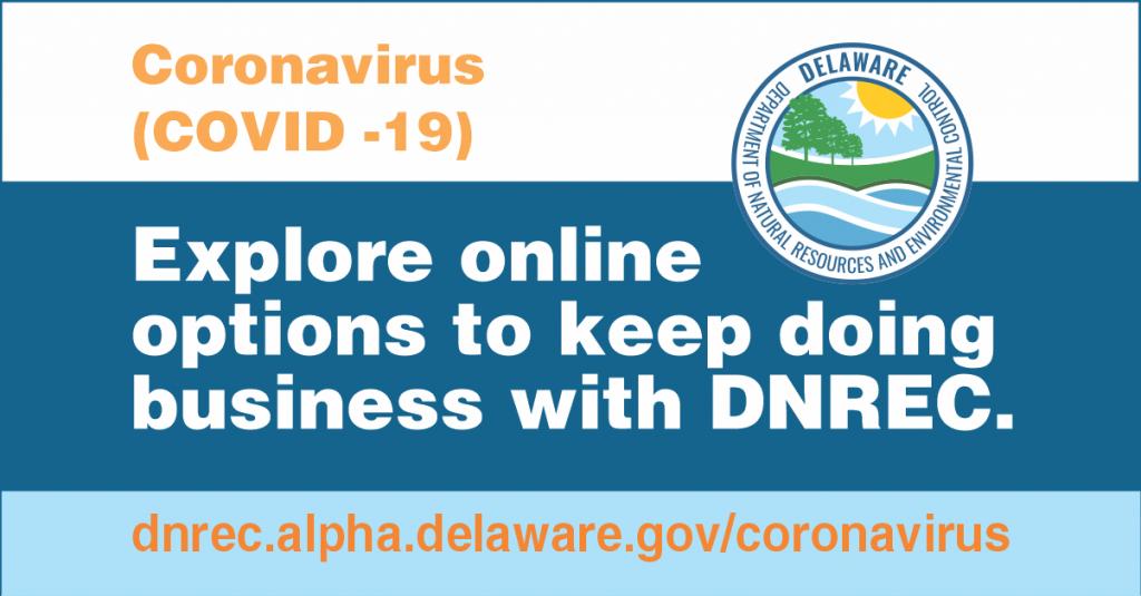 Coronavirus and DNREC