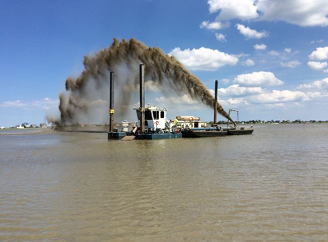 Thin Layer Dredge Material