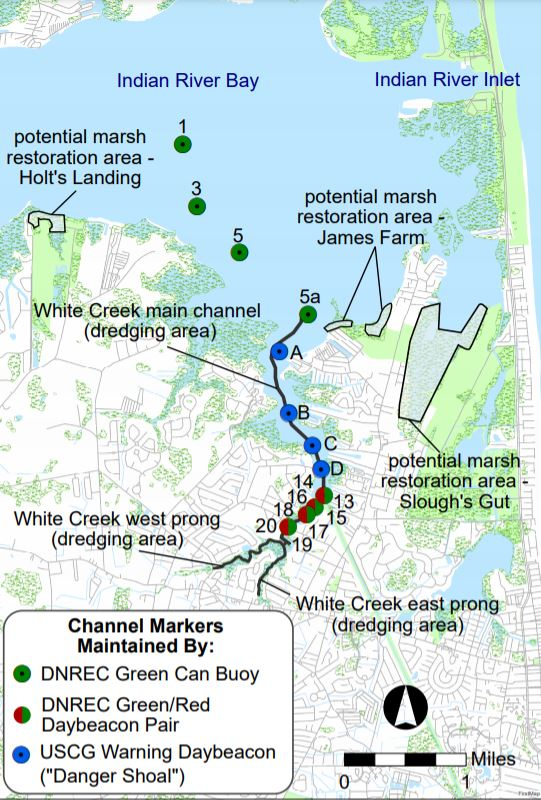 White Creek Project Map