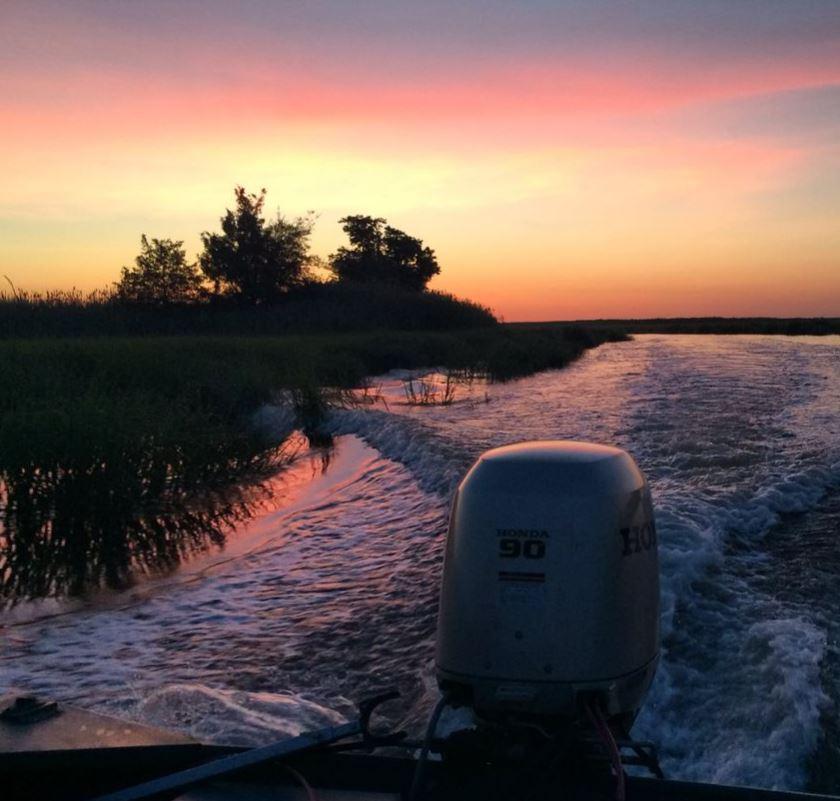 Sunrise on the St. Jones River